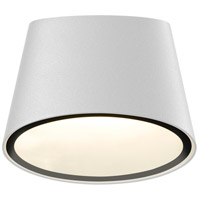 Sonneman Inside-Out Elips - LED Sconce - Textured White Finish - Frosted Shade 7220.98-WL