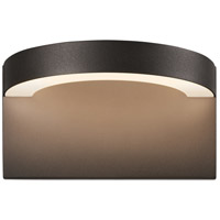 Sonneman 7226.72-WL Cusp LED 5 inch Textured Bronze Indoor-Outdoor Sconce, Inside-Out