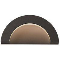 Sonneman 7228.72-WL Crest LED 5 inch Textured Bronze Indoor-Outdoor Sconce, Inside-Out