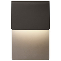 Ply LED 11 inch Textured Bronze Indoor-Outdoor Sconce, Inside-Out