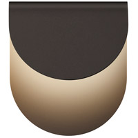 Sonneman 7232.72-WL Cape LED 9 inch Textured Bronze Indoor-Outdoor Sconce, Inside-Out