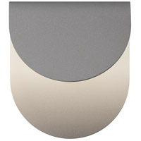 Sonneman 7232.74-WL Cape LED 9 inch Textured Gray Indoor-Outdoor Sconce, Inside-Out