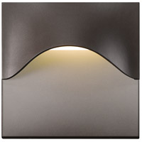 Tides LED 8 inch Textured Bronze Indoor-Outdoor Sconce, Inside-Out