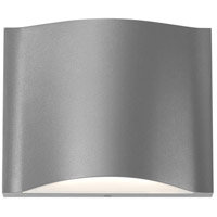 Drift LED 5 inch Textured Gray Indoor-Outdoor Sconce, Inside-Out