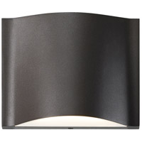 Drift LED 5 inch Textured Bronze Indoor-Outdoor Sconce, Inside-Out