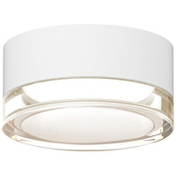 Reals LED 5 inch Textured White Semi-Flush Mount Ceiling Light