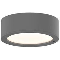 Sonneman 7309.XX.PL.74-WL Reals LED 5 inch Textured Gray Semi-Flush Mount Ceiling Light
