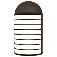 Sonneman 7404.72-WL Lighthouse LED 9 inch Textured Bronze Sconce Wall Light