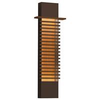 Sonneman 7418.72-WL Kengo LED 10 inch Textured Bronze Sconce Wall Light