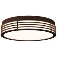 Sonneman 7422.72 Marue LED 15 inch Textured Bronze Surface Mount Ceiling Light