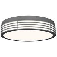 Sonneman 7422.74 Marue LED 15 inch Textured Gray Surface Mount Ceiling Light