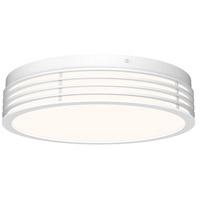 Sonneman 7422.98 Marue LED 15 inch Textured White Surface Mount Ceiling Light