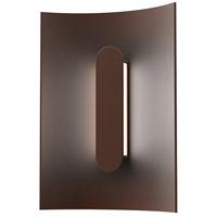 Sonneman 7445.72-WL Tairu LED 6 inch Textured Bronze ADA Sconce Wall Light