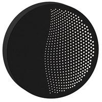 Sonneman 7450.97-WL Dotwave LED 8 inch Textured Black ADA Sconce Wall Light