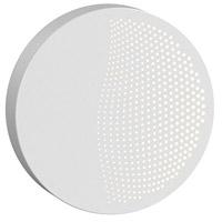 Sonneman 7450.98-WL Dotwave LED 8 inch Textured White ADA Sconce Wall Light
