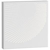 Sonneman 7456.98-WL Dotwave LED 10 inch Textured White ADA Sconce Wall Light