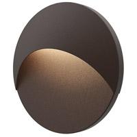 Sonneman 7460.72-WL Ovos LED 10 inch Textured Bronze ADA Sconce Wall Light