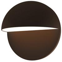 Sonneman 7472.72-WL Mezza Cupola LED 8 inch Textured Bronze Sconce Wall Light