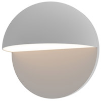 Sonneman 7472.74-WL Mezza Cupola LED 8 inch Textured Gray Sconce Wall Light