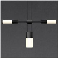 Sonneman S1U36K-MC06XX12-HC02 Suspenders LED 73 inch Satin Black Modular Pendant Composition Ceiling Light