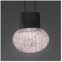 Suspenders LED 96 inch Satin Black Modular Pendant Composition Ceiling Light