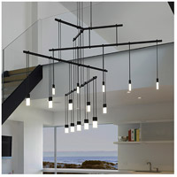 Suspenders LED 49 inch Satin Black Pendant Ceiling Light