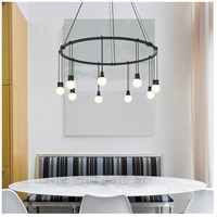 Suspenders LED 26 inch Satin Black Pendant Ceiling Light