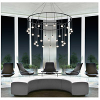 Suspenders LED 50 inch Satin Black Pendant Ceiling Light