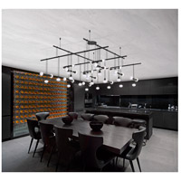 Suspenders LED 54 inch Satin Black Pendant Ceiling Light