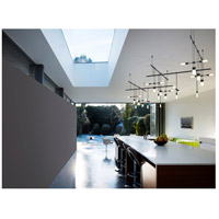 Suspenders LED 106 inch Satin Black Pendant Ceiling Light