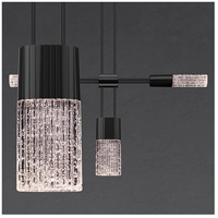 Suspenders LED 73 inch Satin Black Modular Pendant Composition Ceiling Light