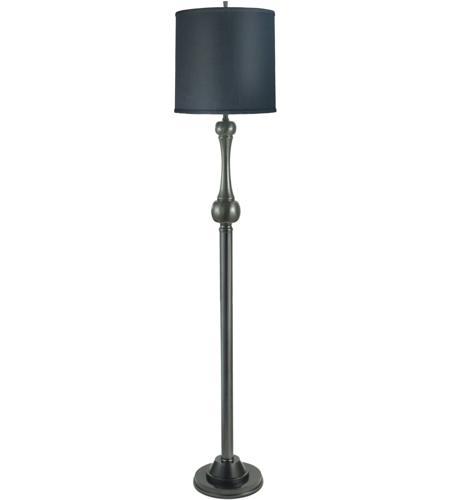 Signature 62 inch 150 watt gun metal floor lamp portable light for 150 watt floor lamp