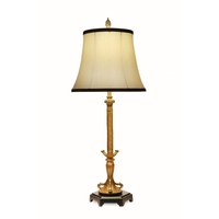 Stiffel BL-A768-K461B-FG Signature 31 inch 150 watt French Gold and Matte Black Buffet Lamp Portable Light