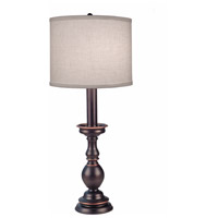 Stiffel BL-N2496-N2497-OB Signature 28 inch 150 watt Oxidized Bronze Buffet Table Lamp Portable Light