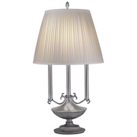 Stiffel Signature 1 Light Desk Lamp in Pewter DL-A965-2-PW