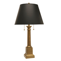 Stiffel DL-AC1584-AC1591-AB Signature 31 inch 100 watt Antique Brass Desk Lamp Portable Light