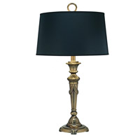 Stiffel Signature 1 Light Desk Lamp in Burnished Brass DL-N8090-BB