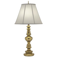 Stiffel TL-6132-K9138-BB Signature 33 inch 150 watt Burnished Brass Table Lamp Portable Light