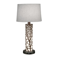 Acrylic and Metal Table Lamps