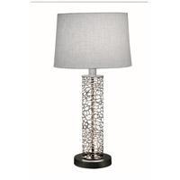 Stiffel TL-6667-LCH-SVPC Ellie 29 inch 150.00 watt Silver PC Table Lamp Portable Light