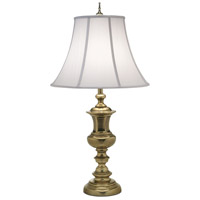 Stiffel TL-A589-A726-BB Signature 34 inch 150 watt Burnished Brass Table Lamp Portable Light