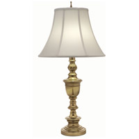 Stiffel TL-A610-K9149-BB Signature 33 inch 150 watt Burnished Brass Table Lamp Portable Light
