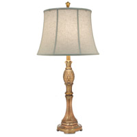 Signature 33 inch 150 watt Polished Honey Brass Table Lamp Portable Light
