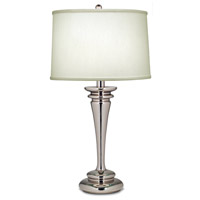 Signature 29 inch 150 watt Polished Nickel Table Lamp Portable Light