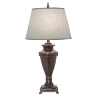 Signature 32 inch 150 watt Oxidized Bronze Table Lamp Portable Light