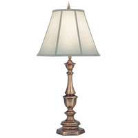 Signature 33 inch 150 watt Antique Brass Table Lamp Portable Light