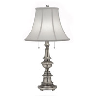 Stiffel TL-N6086-N6085-AN Signature 29 inch 150 watt Antique Nickel Table Lamp Portable Light
