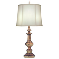 Signature 33 inch 150 watt Antique Nickel Table Lamp Portable Light