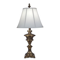 Signature 34 inch 150 watt Smoked Umber Table Lamp Portable Light