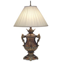Stiffel Signature 1 Light Table Lamp in Amber Tortoise Shell TL-N8414-N8415-ATS